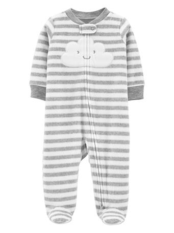 CARTER'S - Zip-Up Fleece Sleep & Play  NOVELTY