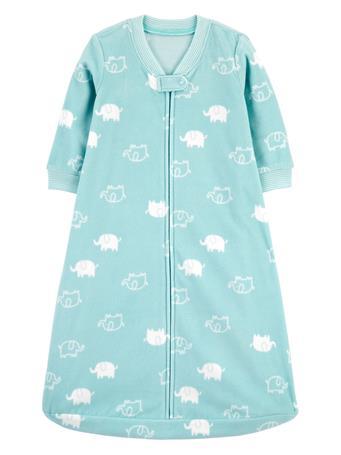 CARTER'S - Clouds Fleece Sleep Bag  BLUE