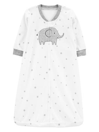 CARTER'S - Elephant Fleece Sleep Bag  IVORY