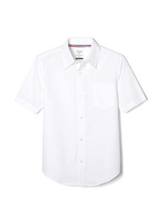 FRENCH TOAST - Short Sleeve Classic Dress Shirt White {#color}