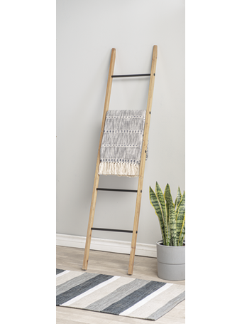 GANZ - Wooden Ladder Display Stand WOOD