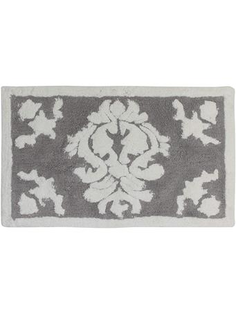 HEIRLOOM BATH RUG COTTON GREY