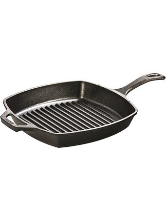 LODGE CAST IRON - 10.5In Square Cast Iron Grill Pan No Color