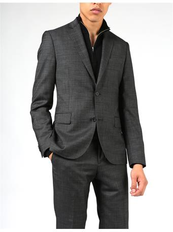 Hopper Soft 140s Platinum Suit Jacket