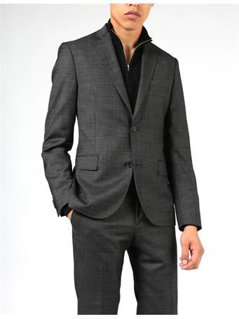 Hopper Soft 140s Platinum Suit Jacket