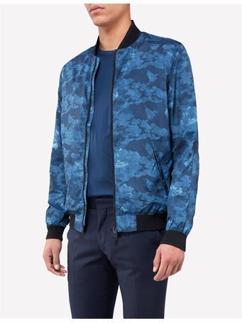 Thom Printed Bomber Jacket