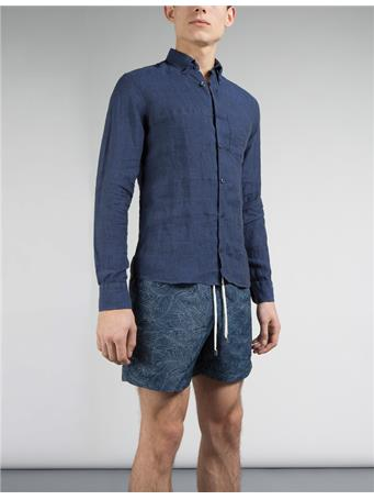 Daniel Melange Linen Shirt