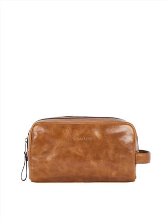 Mix Leather Washbag