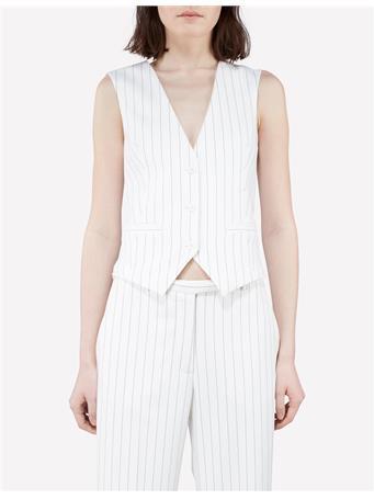 Fay Tux Fab Pinstripe Vest