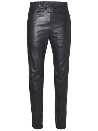 Broken Leather Track Pant