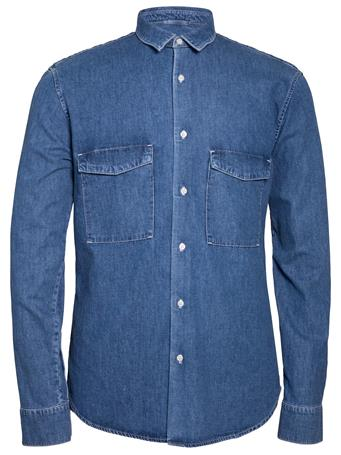 David Grain Denim Shirt