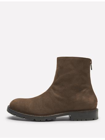 Vote Grain Nubuk Zip Boot