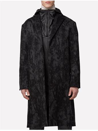Crombie Shadow Melton Coat