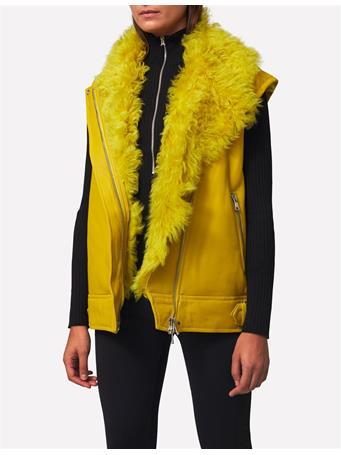 Sayonara Biker Shearling Jacket
