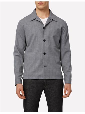 Jason Stretch Wool Overshirt