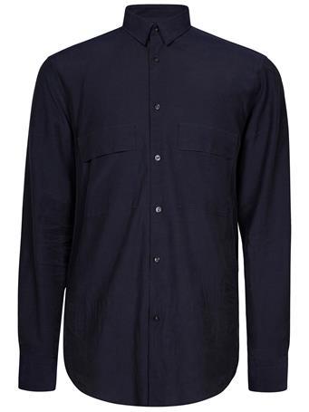 David Cotton Button Up Shirt