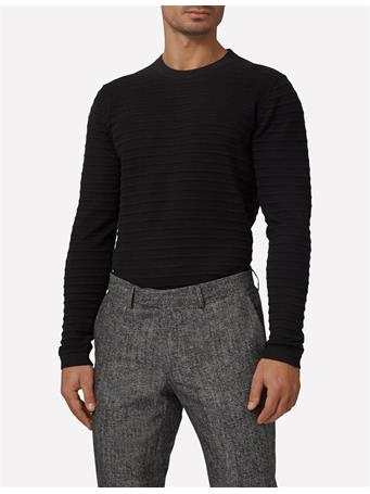 Jude Structure Striped Sweater