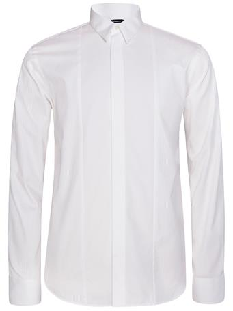 David Tux Plisse Shirt