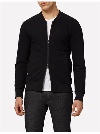 Randall Crinkle Surface Zip Sweatshirt