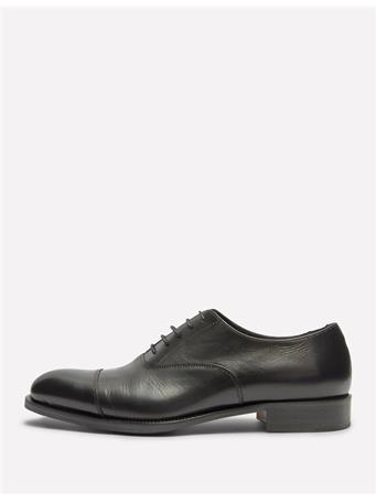 Hopper Italian Calf Leather Cap Toe Shoes