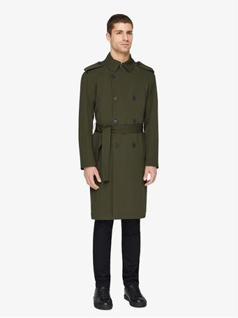 Bogart Tech Wool Trench Coat