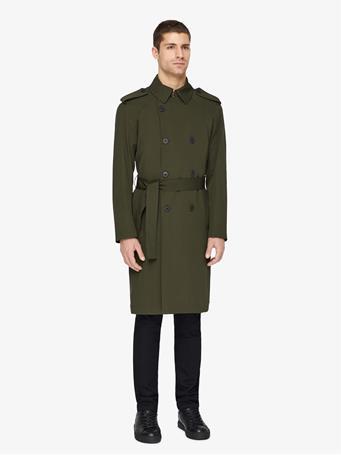 Bogart Tech Wool Trench Coat