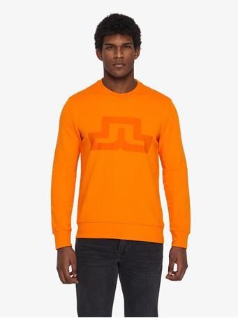 Throw Ring Loop Print Sweatshirt