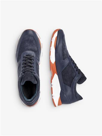 Bump Suede Sneakers