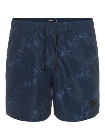Banks Pattern Swim Trunks