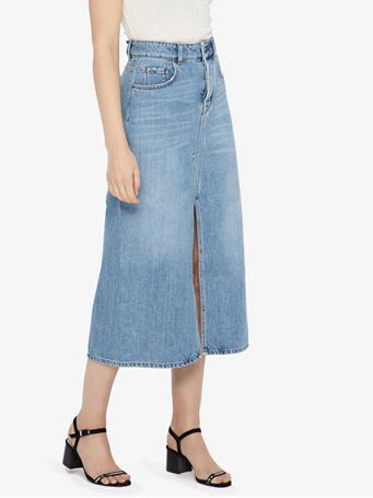Conei Sharp Denim Skirt