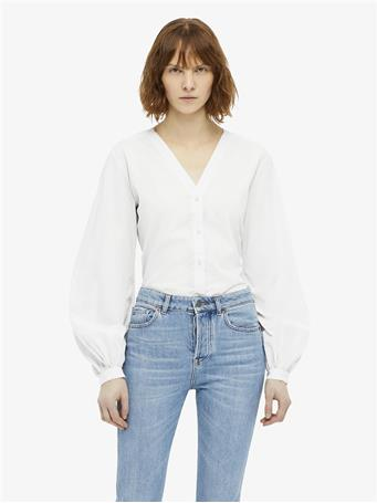 Pebble Light Poplin Blouse