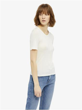 Lyn Silky Ribbed T-shirt