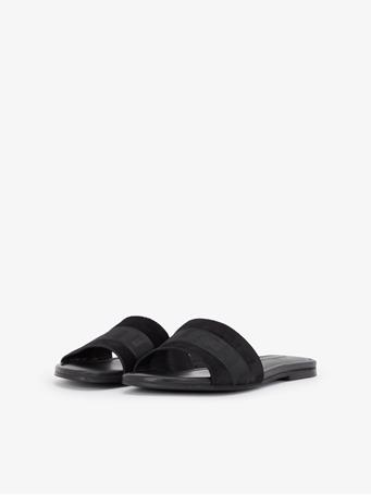 Flat Suede Sandal