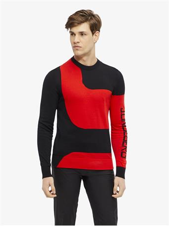 Rocks Long-Sleeve Pima Cotton Sweater
