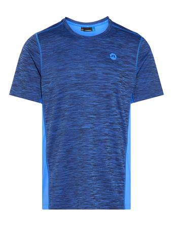 Curved Run Melange Jersey T-shirt