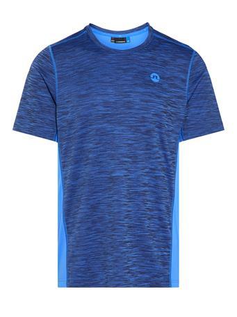 Curved Run Melange Jersey T-shirt