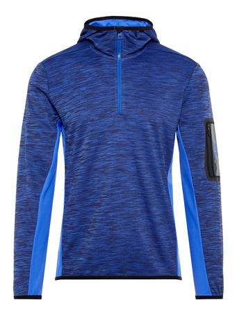 Curved Running Jersey Hoodie