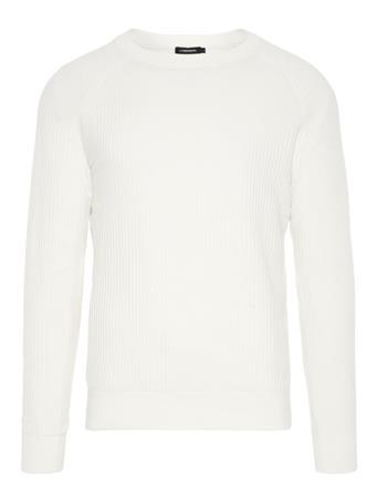 Randers Small Structure Ribbed Sweater