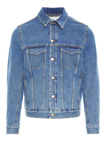 Max Fuji Blue Denim Jacket