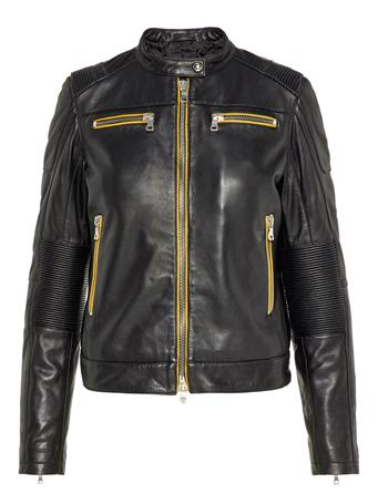 Okeeffe Moto Leather Jacket