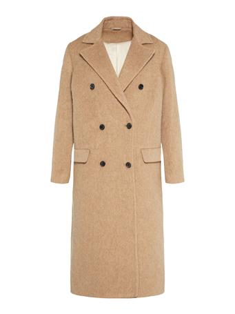 Amaris Fluffy Wool Coat