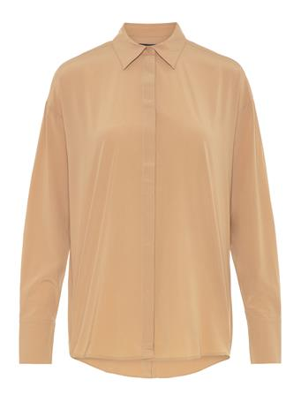 Nicole Stretch Silk Shirt