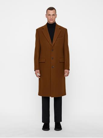 James Twill Melton Coat