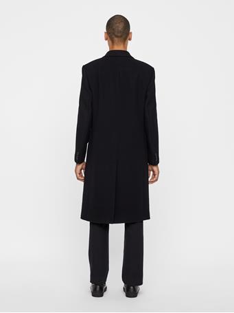 James Twill Melton Coat