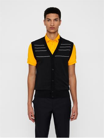 Cesar Cotton Coolmax Cardigan Vest