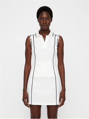 Oda High Vent Dress