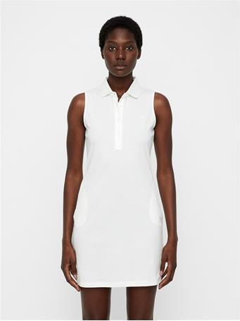 Elsi Cotton-Poly Dress