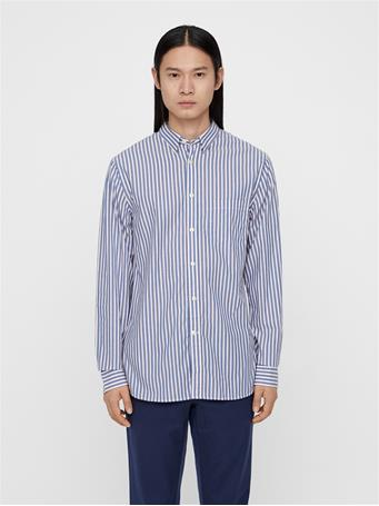 Daniel Striped Poplin Shirt