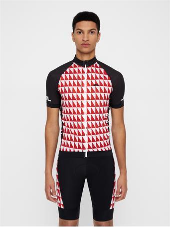 Bike Geo Print Jersey