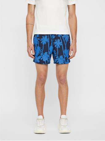 Banks Patterned Swim Trunks